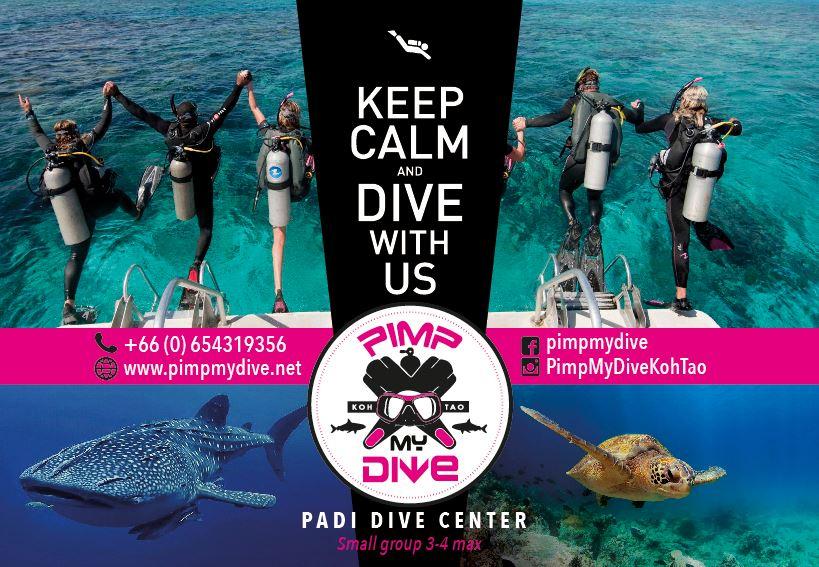 Pimp My Dive Koh tao Diving Thailand