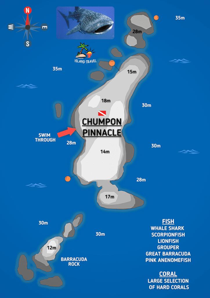 Chumphon Pinnacle Dive Site