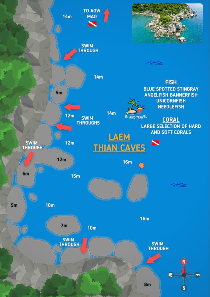 Laem Thian Caves Koh Tao