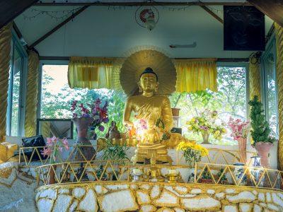 Myanmar Temple Koh Tao