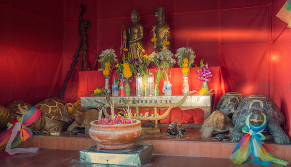 Thai Shrine Koh Tao