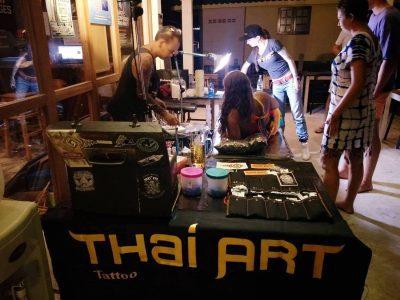 Koh Tao Tattoo Artist Thai Art