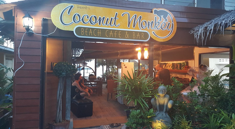 Coconut Monkey Koh Tao Cafe