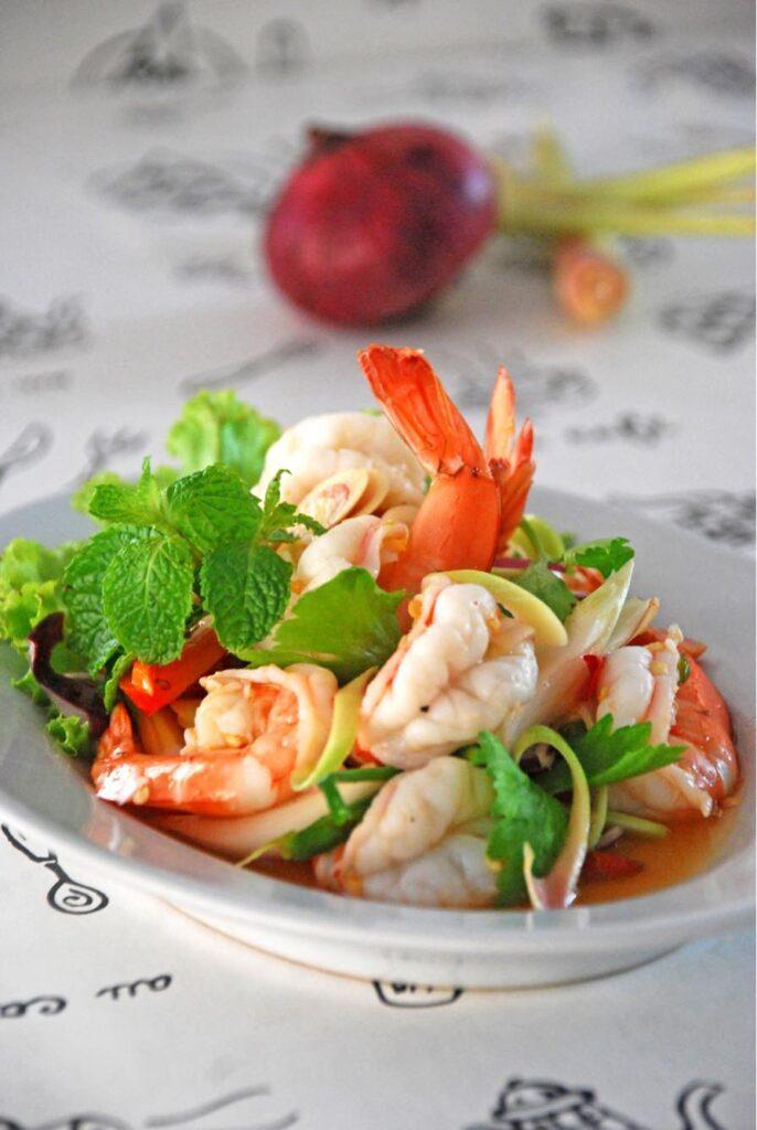 Thai food in Koh Tao