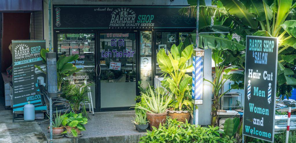 Hairdresser and Barber on Koh Tao