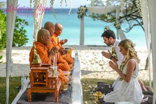 Thailand Beach Wedding