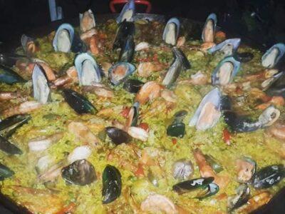 Seafood Paella Koh Tao