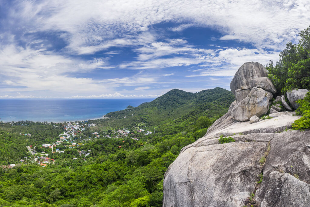 Fraggle Rock View Point Koh Tao