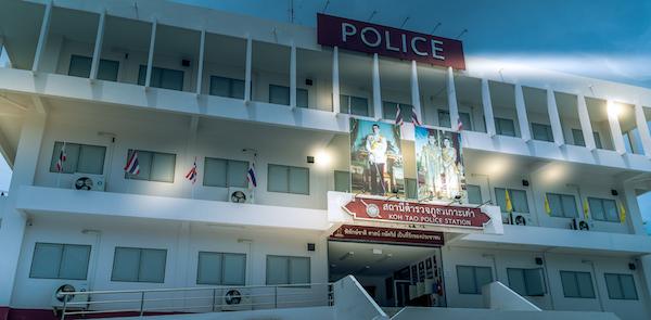 Koh Tao Police Station