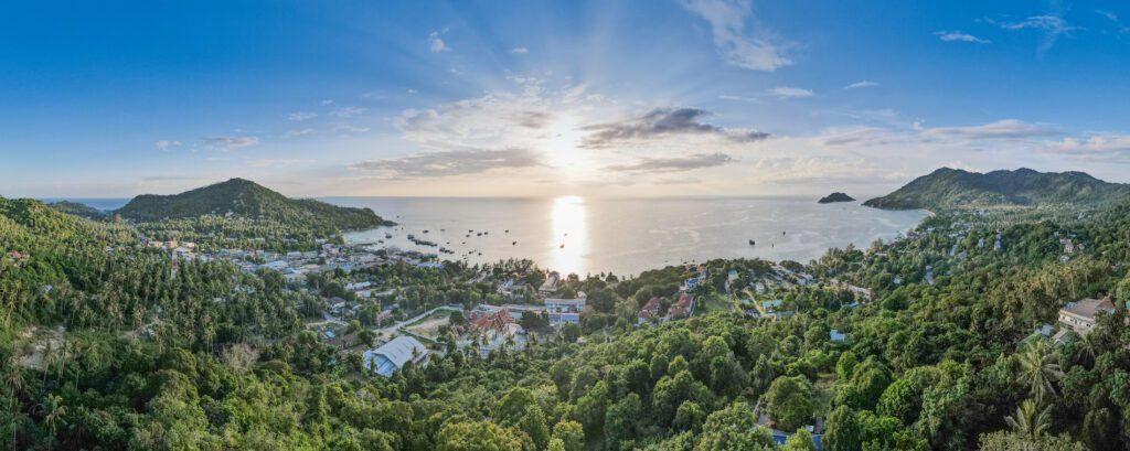 Sunset Sea Viewpoint Koh Tao