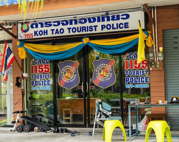 Koh Tao Tourist Police