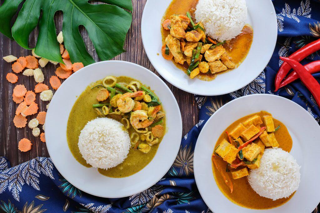 Thai Food Koh Tao at Pranees Kitchen