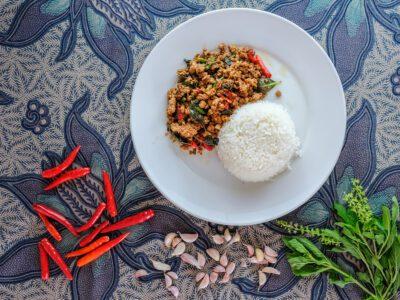 Pad Grapao Koh Tao at Pranees Kitchen