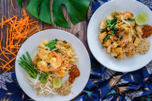 Thai Food Koh Tao at Pranees Kitchen