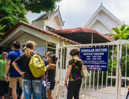 Visa Run to Penang