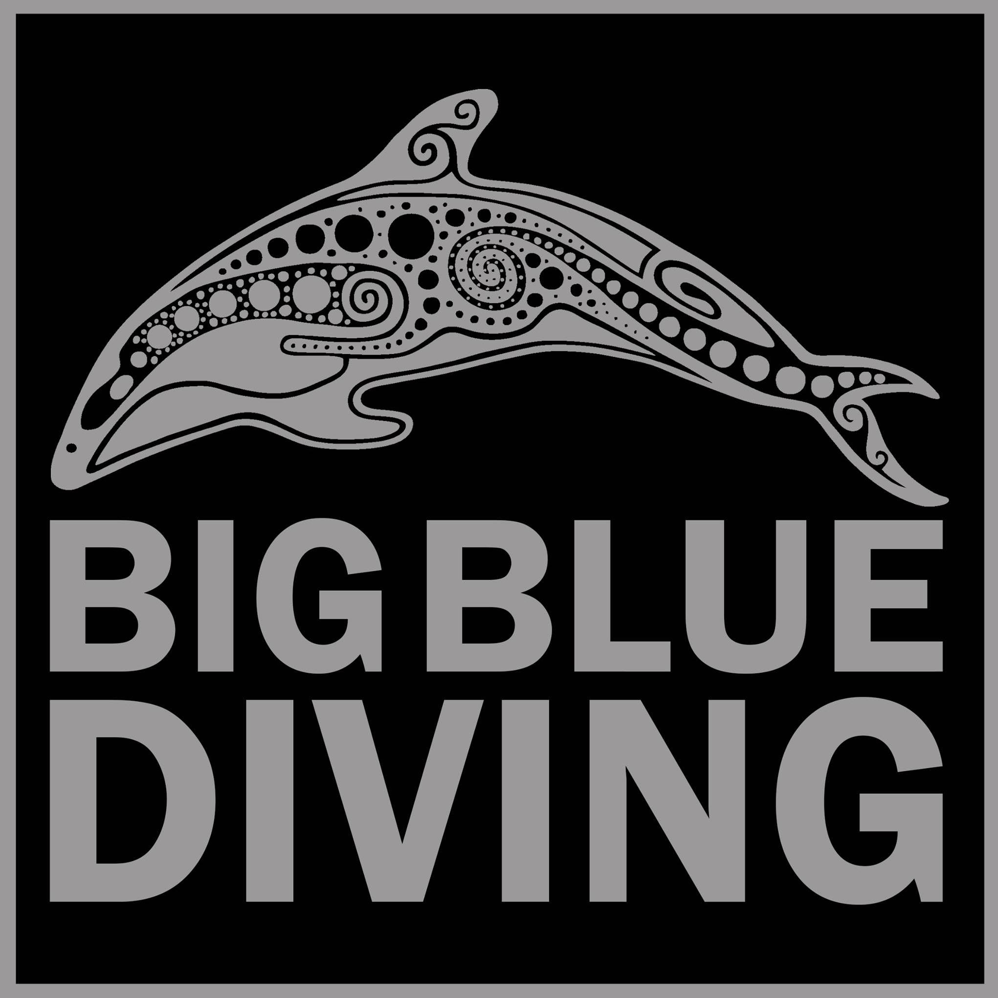 Big Blue Diving Logo