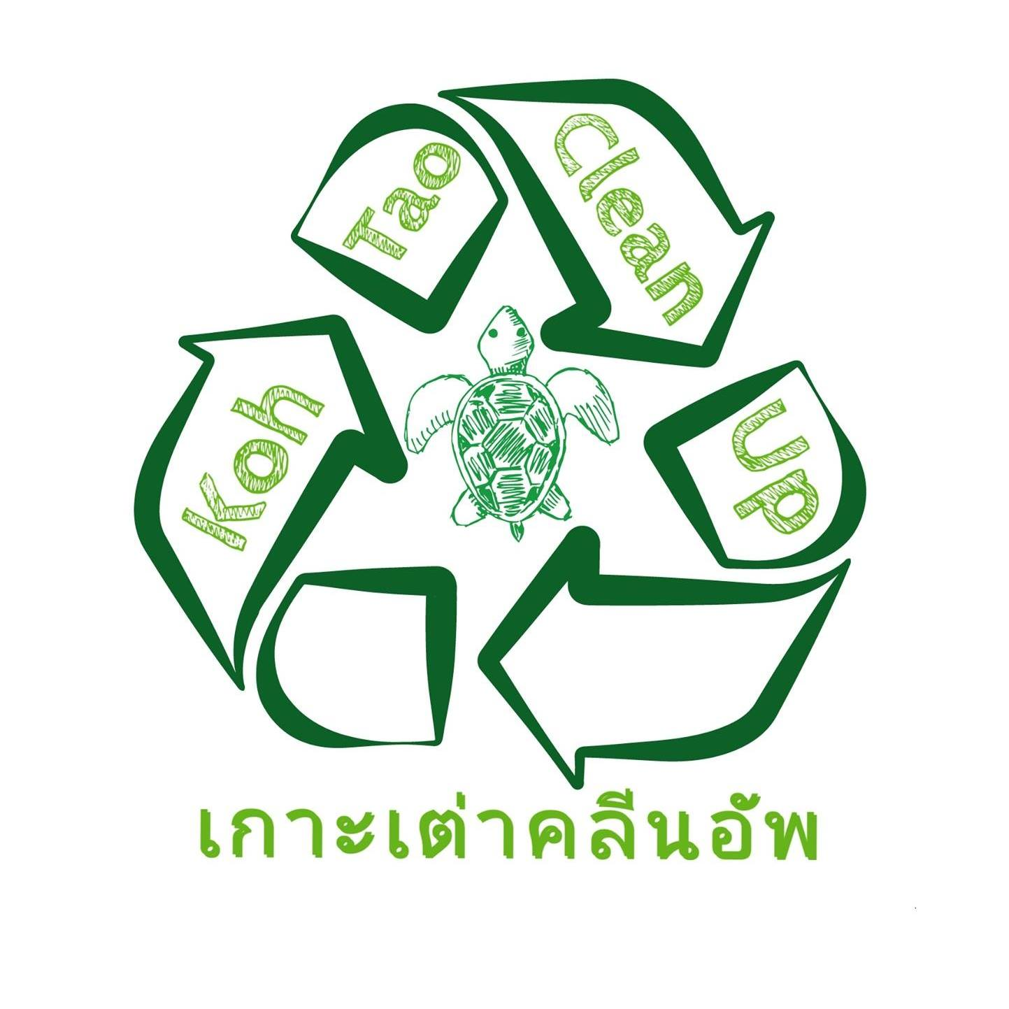 Koh Tao Clean Up Logo